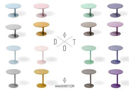 BIXBIT coffee and side tables Dot, design: Kuba Blimel, www.bixbit.com/ www.shop.bixbit.com