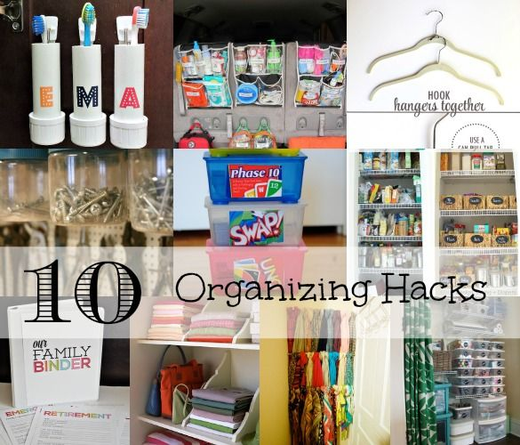 10 Helpful Home Office Storage And Organizing Ideas: 8 Best Organizing Hacks For Families Images On Pinterest