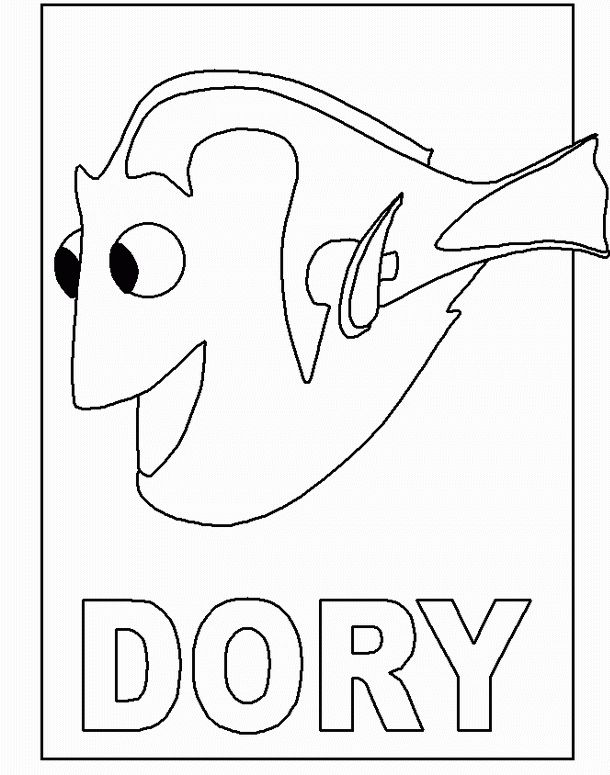 finding nemo coloring pages bing images - Finding Nemo Coloring Book