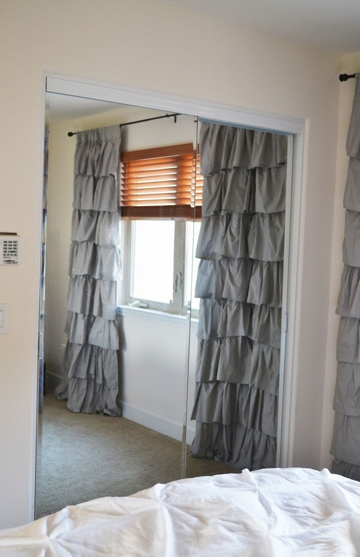 Сара м. Дорси конструкций: драпировка панелей для дверей шкафа