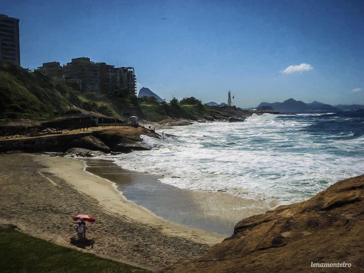 SOS Brazil... - Rio de Janeiro, Arpoador, Brazil, South America