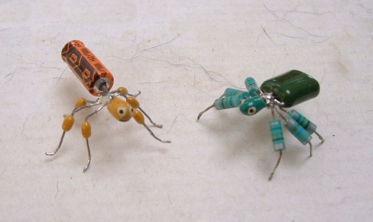 Bugs from computer parts