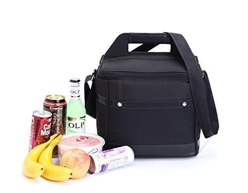 Adult Lunch Box Insulated Bag Soft Cooler Adjustable Strap Work Case Men Women #Mooxury