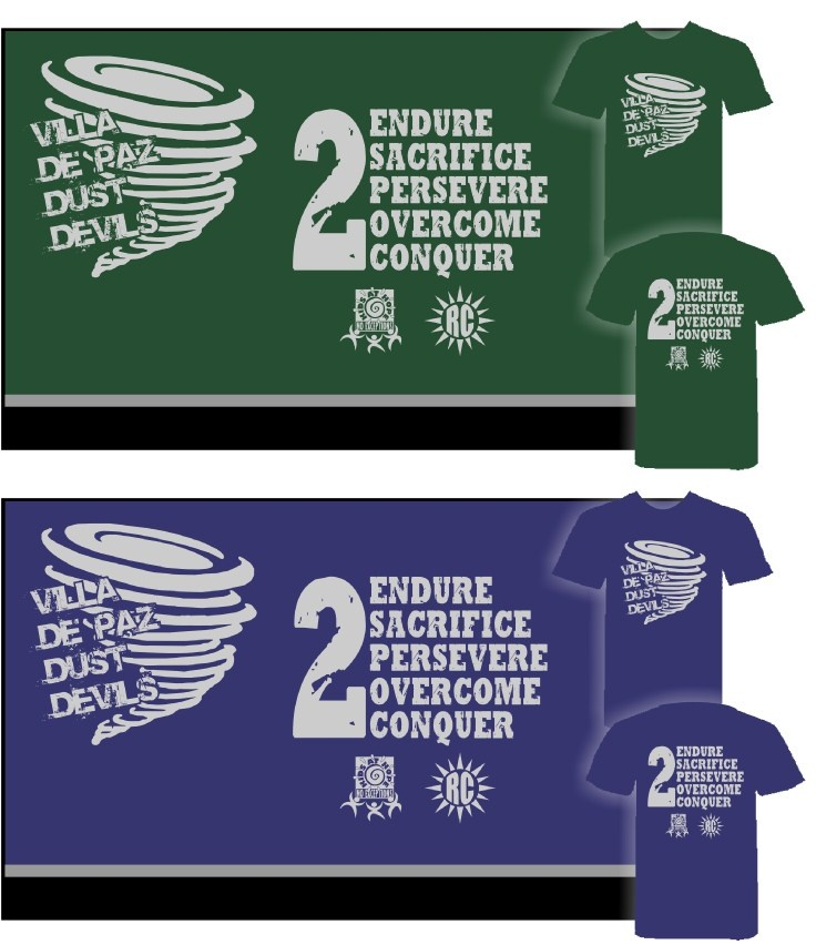 Thanks to Villa De Paz Elementary School for ordering more than 150 shirts. :-)
