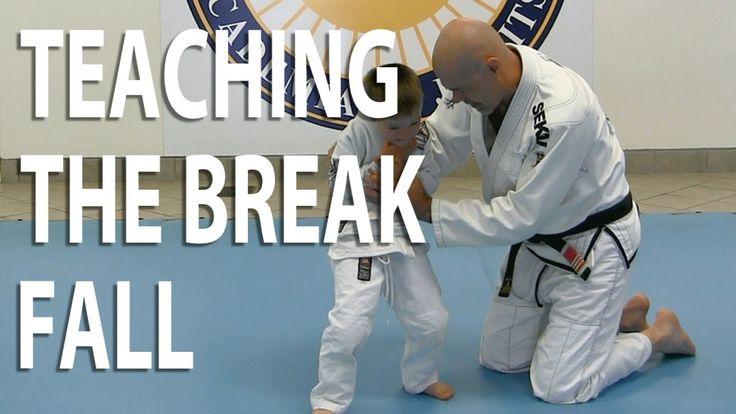 How to Play Jiu-Jitsu With Your Kids Part 5: Teaching the Break Fall