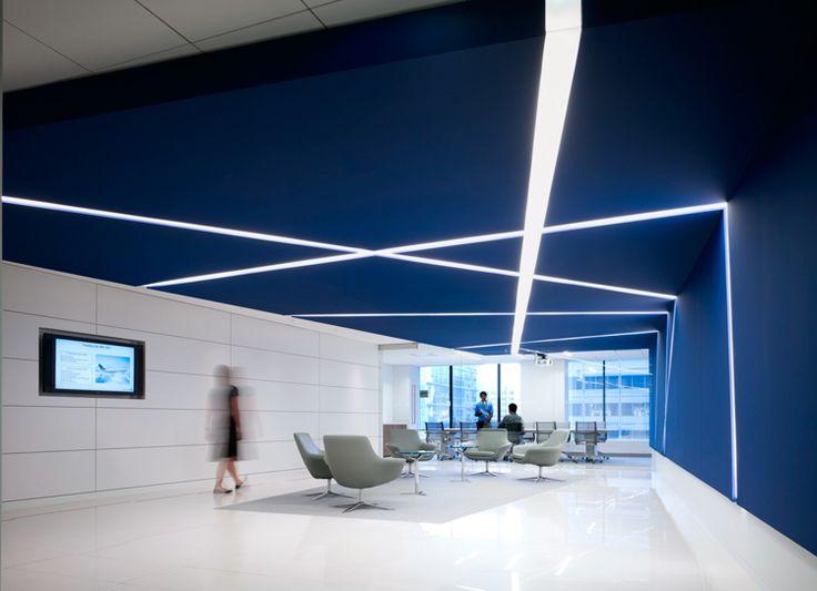 cannon commercial lobby blue office decor