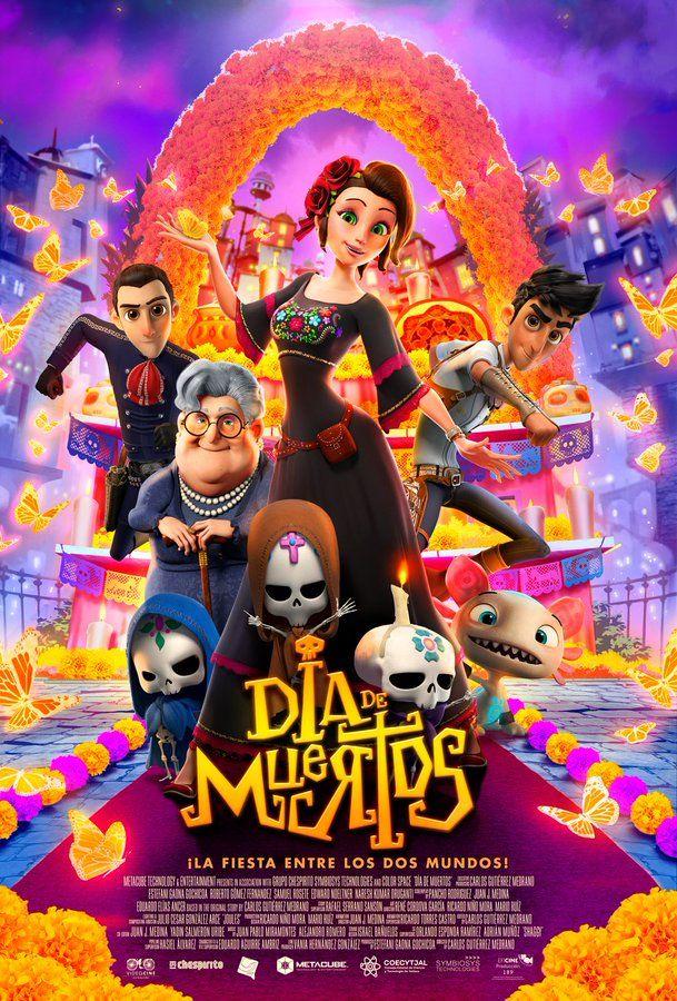Póster Día De Muertos Dia De Muertos Pelicula Dia De Muertos Películas En Inglés