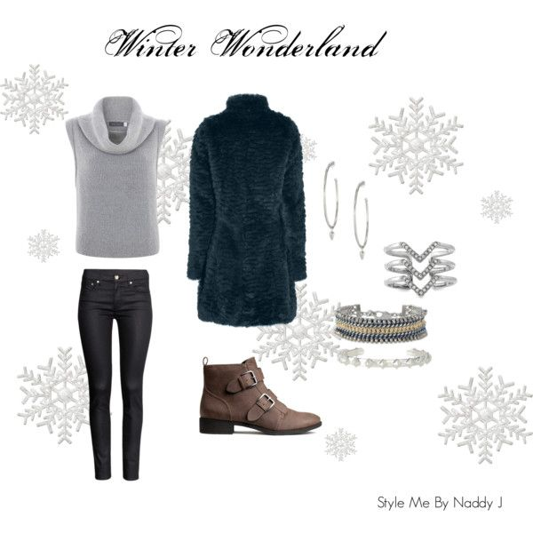 """Winter wonderland"" by stylemebynaddyj on Polyvore"