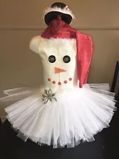 National Pageant Snowman Christmas Holiday Casual Wear Dress Size 3-5t