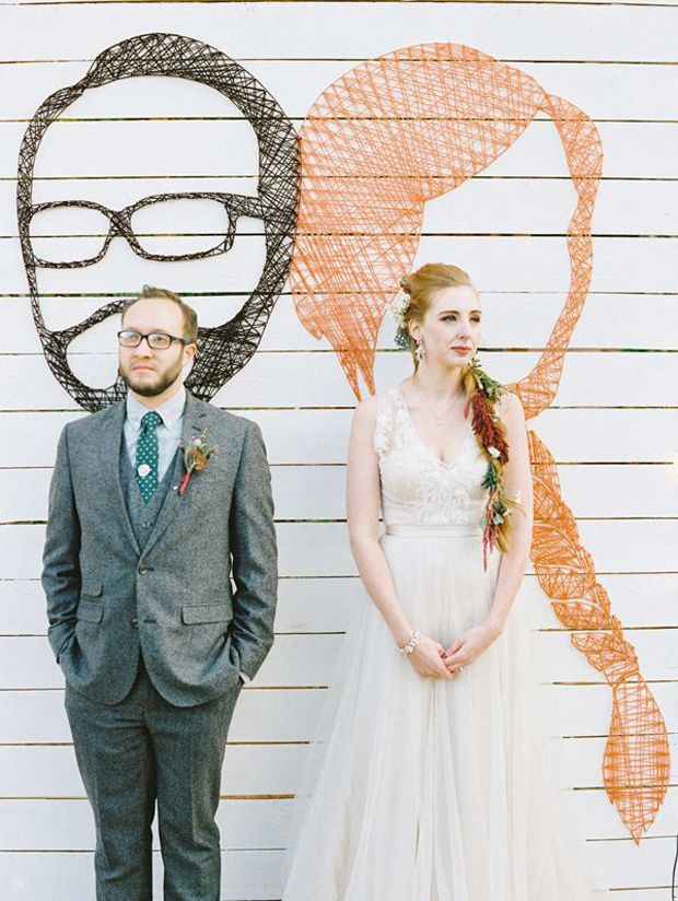 unusual wedding photos ideas%0A Creative Wedding Ideas    Super Sweet DIY  u    String Art u     Wedding Decor