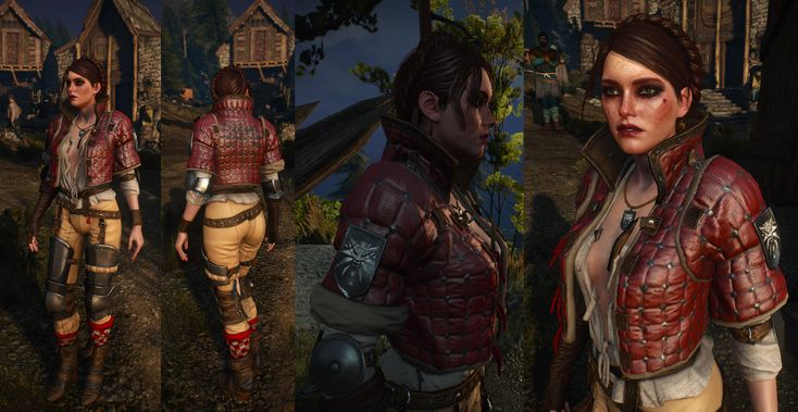Ves armor at The Witcher 3 Nexus - Mods and community