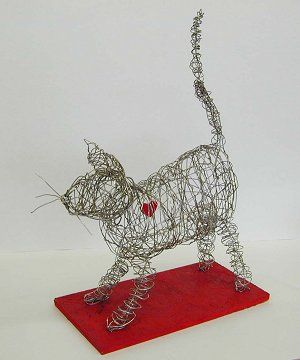 elementary art lessons on wire sculpture - Google Search