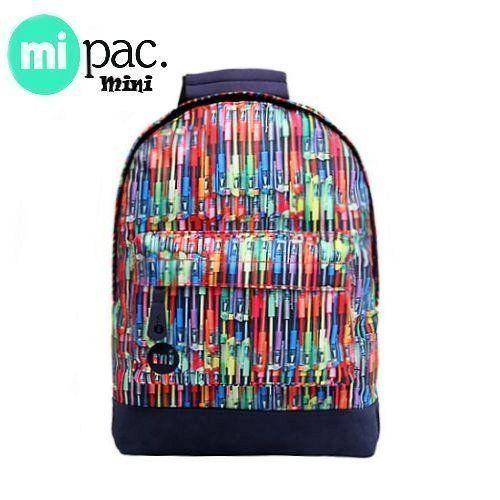 Mi-Pac Mini Rugzak Pens Rainbow