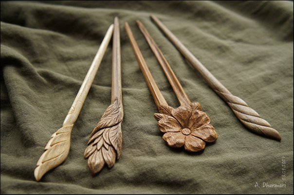 52$ and 32$ Handmade, unique wooden hairpins by Dharmari workshop  #wood_art #gift_for_her #hairpin #comb #wooden_comb #wooden_hairpin #fork #hairstick #original_gift #handmade_gift #DharmariWoodArt #woodcarving #Dharmari #hair_decoration #hair_accessories #hair_stick #wooden_hair_stick#hair_pin#flower_in_hair#wood_carving
