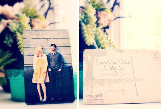 You could win 50 eco-friendly wedding postcards or coasters from SIMPLY GRATEFUL in our giveaway! Enter in the link.