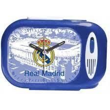 DESPERTADOR CON HIMNO REAL MADRID