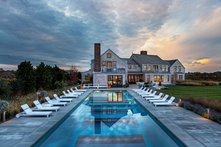Dream House Squam Residence by  Malcom Designs