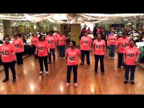 """Dance: """"Uptown Funk Baby"""" line dance created by Keema and Nana J of K2C (Keema's Kickin' Crew). Song: """"Uptown Funk"""" by Mark Ronson featuring Bruno Mars. NO C..."""