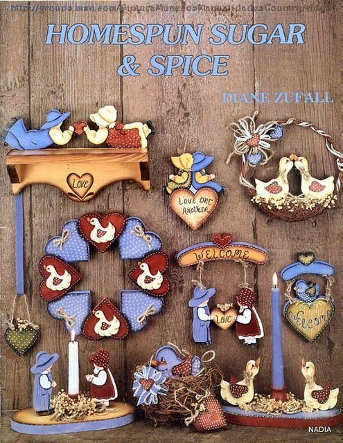 Homespun Sugar and spice - Nadieshda N - Picasa Web Albums...FREE BOOK!!