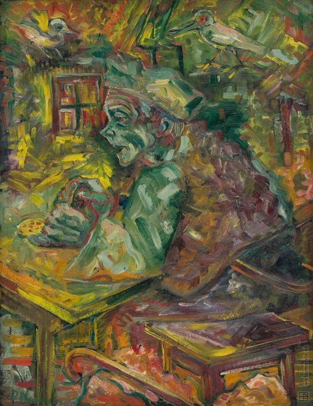 Arnold Peter Weisz-Kubínčan: Za stolom:1940 - 1950