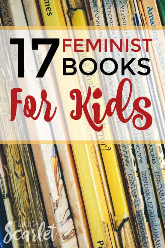 Looking for the perfect gift for the little one in your life? Check out this list of feminist books for kids! Great for talking about gender equality and stereotypes with children. Perfect!
