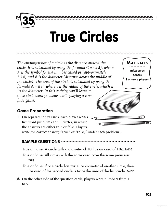 45 best circle lesson images on pinterest teaching ideas circle area and circumference word problems ccuart Gallery