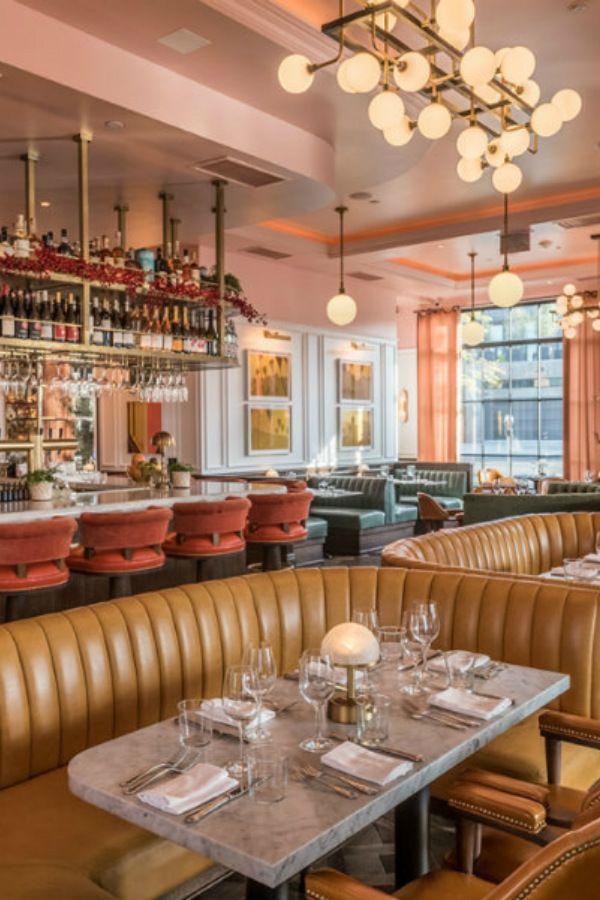 Best Los Angeles Restaurants The European Flair At The Draycott Los Angeles Restaurants Restaurant Interior Design Restaurant Interior