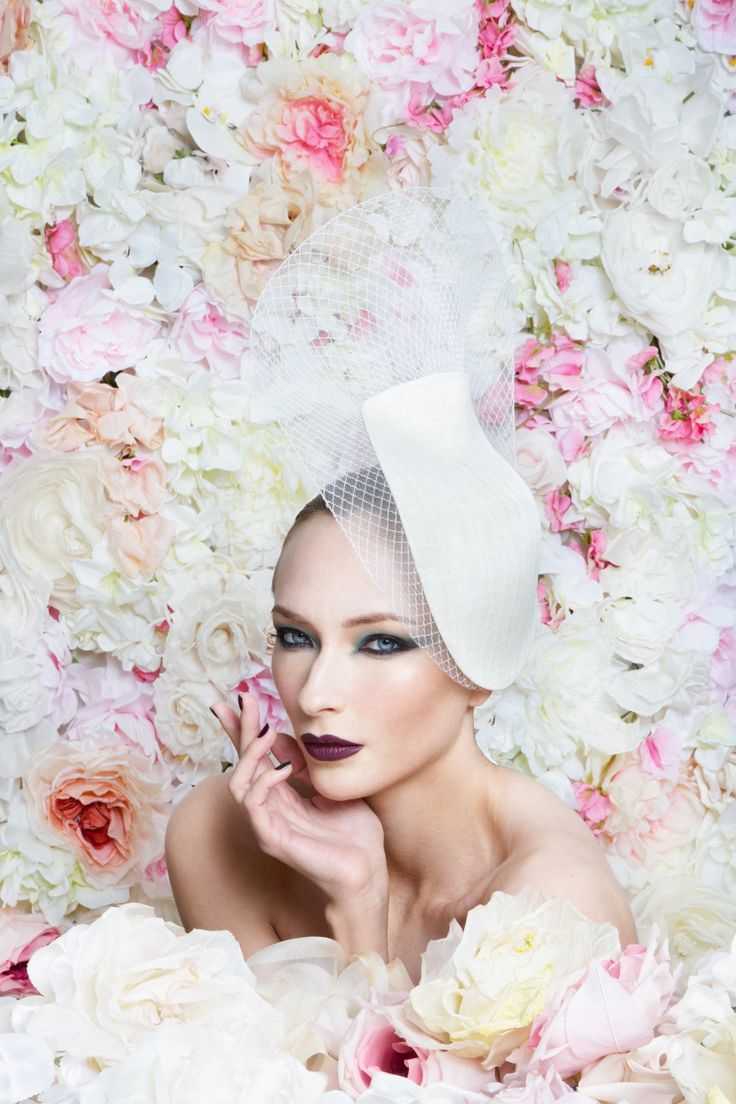 Philip Treacy Bridal Wedding Hat