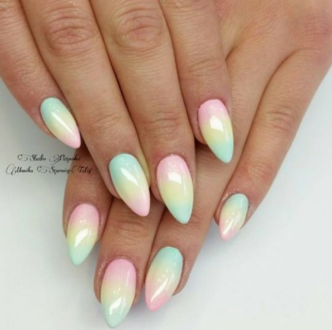Unicorn nails!!!!