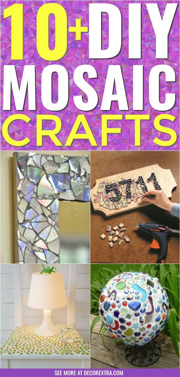 10 Amazing Diy Mosaic Art And Craft Ideas And Projects Diy And