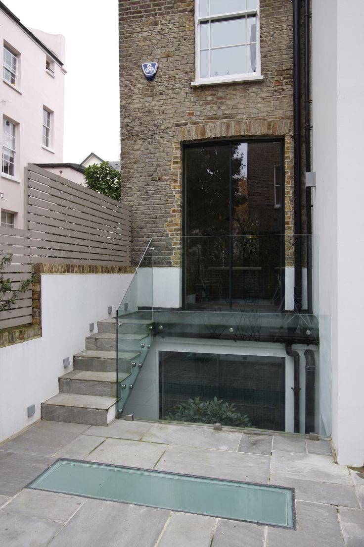 23 best sandblasted frosted glass images on pinterest for Rear access home designs
