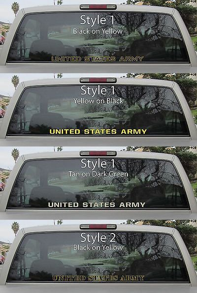 USMC Vinyl Decal EGA Military Emblem Car Window Laptop US Marine Corps  Sticker