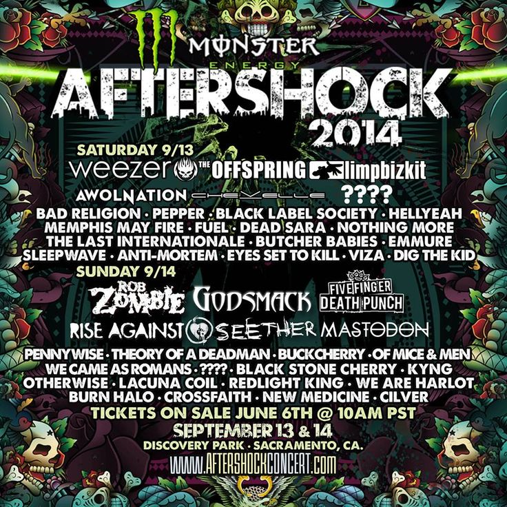 Aftershock Music Festival 2014