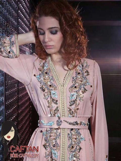 Caftan marocain une tendance très attirante pour 2017  avec une belle apparence à la femme se concrétise par des collections de mode comme ...