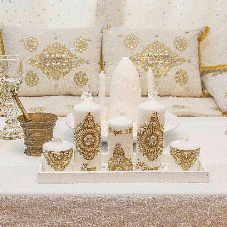 Wedding candle design