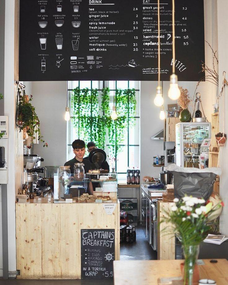 """509 curtidas, 1 comentários - DIY Home (@diyhomebr) no Instagram: """"Café em Berlim super inspirador. Duas coisas que amo nessa vida café e boa decoração. Fonte:…"""""""
