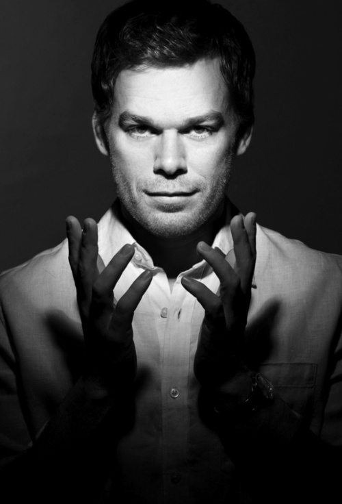 Michael C. Hall I always thought he was ugly I until I started liking dexter a whole lot more