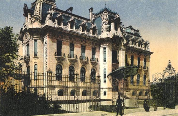 Bucuresti - Palatul Cantacuzino (Muzeul George Enescu)