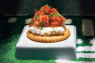 "Chef Guy Fieri's Pepperoni Parmesan Bites ""Deconstructed Lasagna"" recipe"