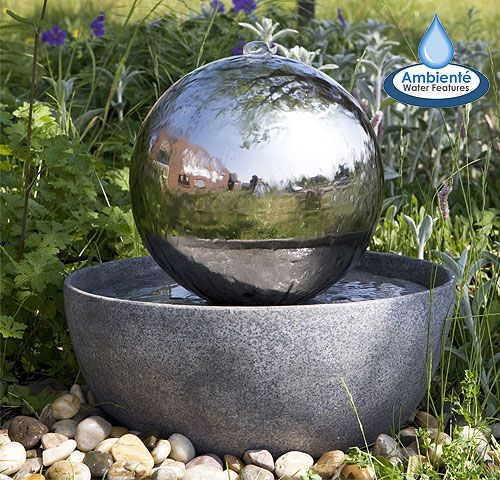 Easy to install, affordable, modern water feature