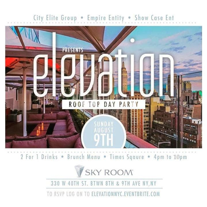 @empireentity @princeofshowcase @showcaseentgroup Present: Tomorrow #Elevation : #TouchtheSky #Sunday at @SKYROOMNYC is is not your average #Rooftop #DayParty | #NoCover | Cabanas | 2Bttls 500 MORE INFO HERE: http://www.areyouvip.com/event/touch-the-sky-sun/ @areyouvip #areyouvipevents @djjohnnyhansum @djtrueblends @DjWallah
