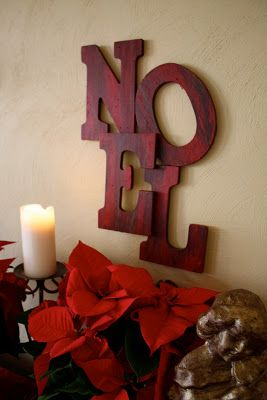 Pottery Barn Inspired Noel Sign Tutorial