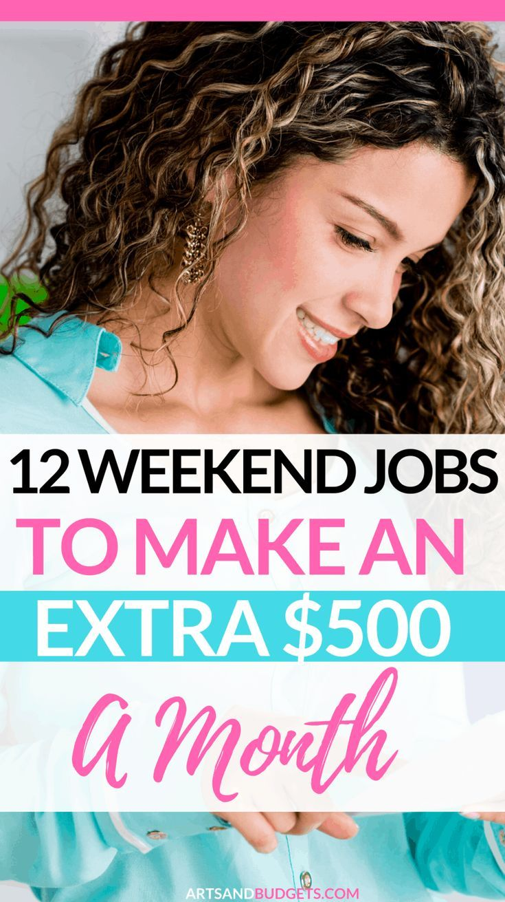 12 Weekend Part Time Jobs That Pay Well In 2020 Weekend Jobs Work From Home Jobs Part Time Jobs