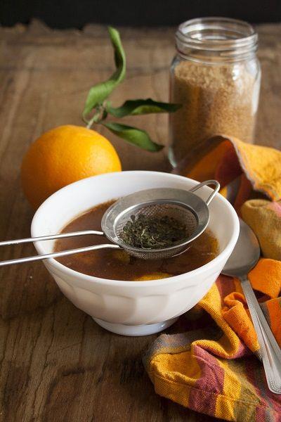 Tisana all'arancia, cannella e melissa - Orange, cinnamon, lemon balm