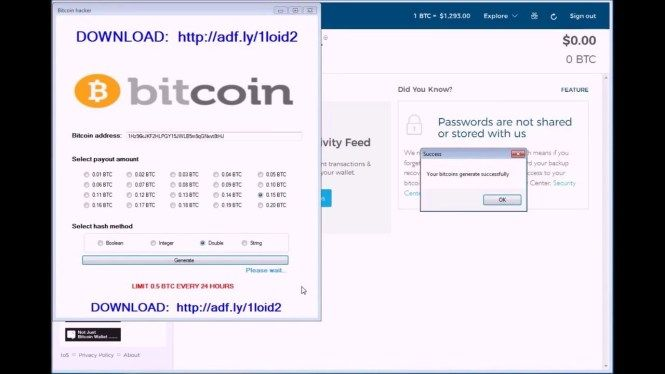bitcoin hacking szoftver
