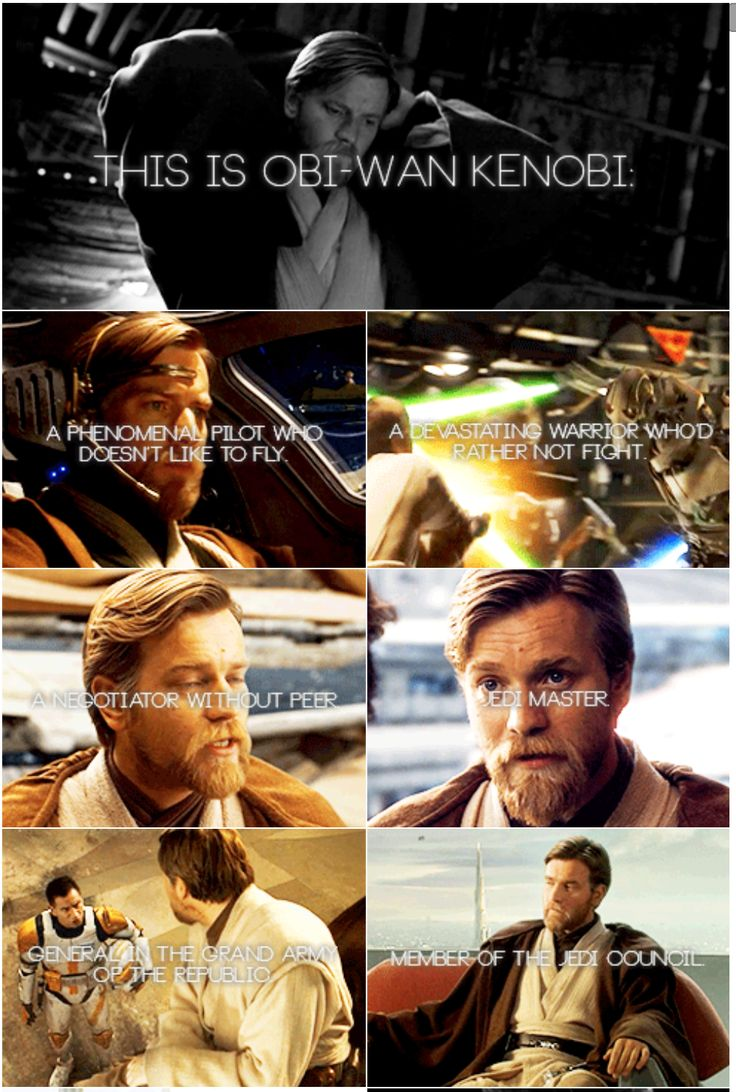 This is Obi-Wan