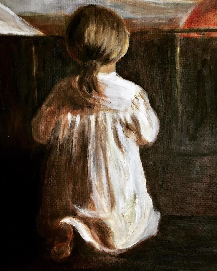 "60 likerklikk, 3 kommentarer – Elin Holm (@elinartholm) på Instagram: ""My study (detail), oil on canvas (ElinArt 2006) of Anna Kristine Ancher (""Evening Prayer, 1880)…"""