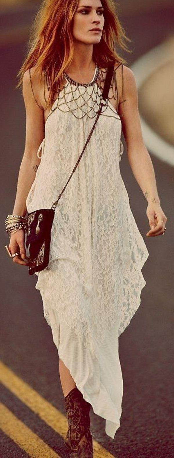 robe hippie chic, une silhouette originale