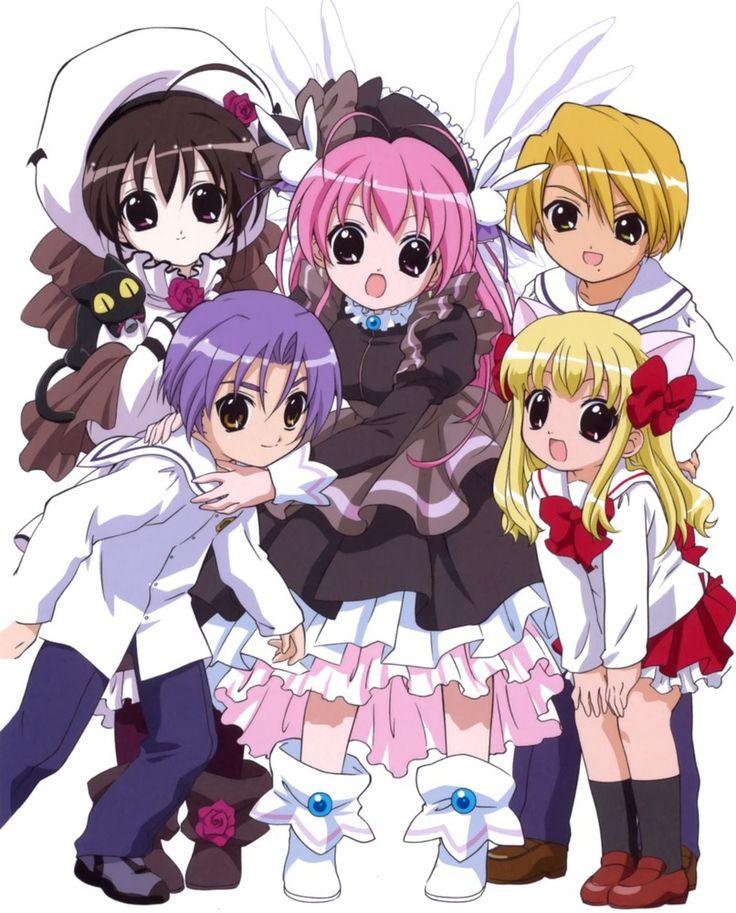 Pita-Ten (ぴたテン) Cute manga created by Koge-Donbo. So kawaii !