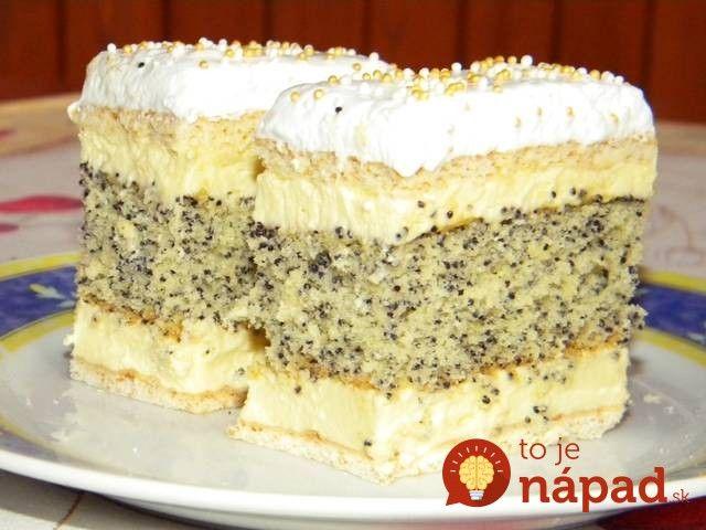 Tento zákusok spája to najlepšie z krémešu, makového koláča a lahodného medového cesta. Je to kráľ medzi zákuskami, ochutnajte!